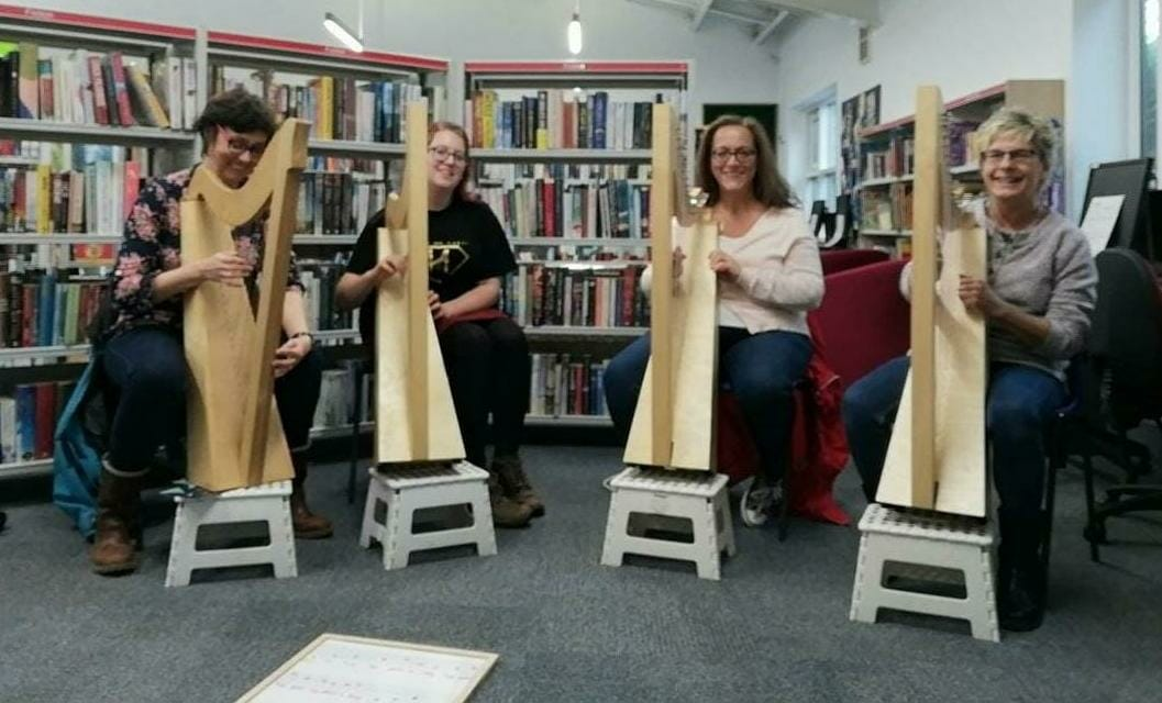 introduction to harp workshop frenchay bristol